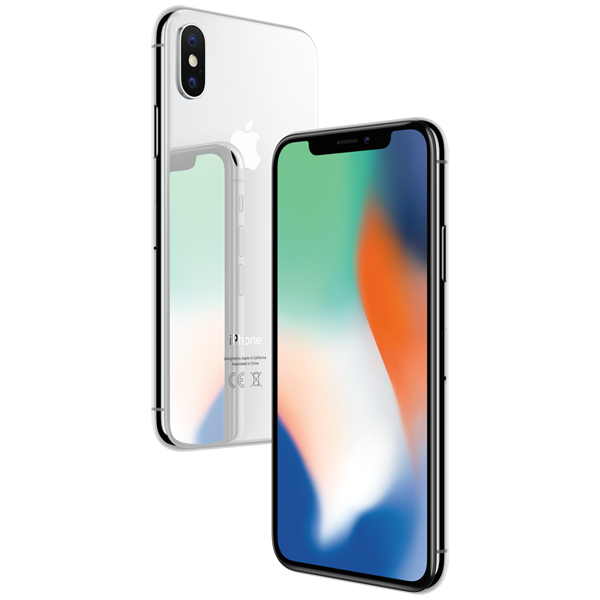 Смартфон Apple iPhone X 256GB Silver (Серебристый)