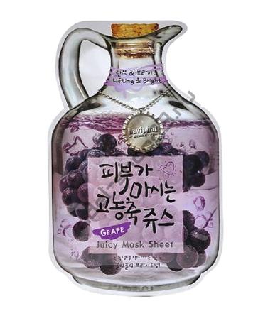 "BAVIPHAT - Тканевая маска ""Grape"" Juicy Mask Sheet"