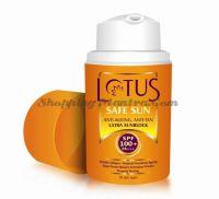 Антивозрастной солнцезащитный крем SPF100 Лотус Хербалс | Lotus Herbals Anti-Ageing Anti Tan Block SPF100
