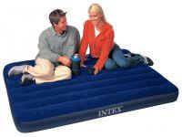 двуспальный надувной матрас Intex 68758