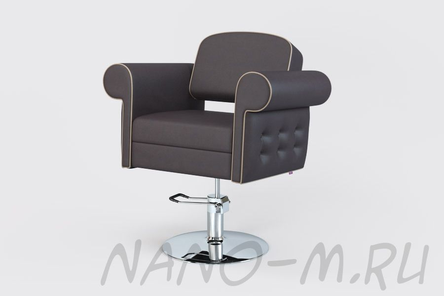 Парикмахерское кресло Venetto темный шоколад