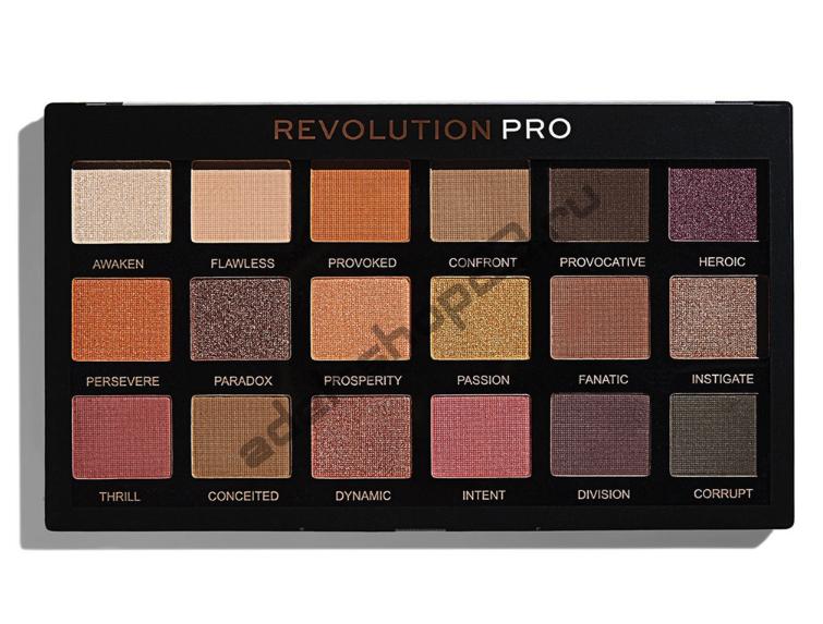 "MakeUp Revolution - Тени для век Pro ""Mirage"" 18 цв"
