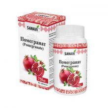 ПОМЕГРАНАТ (индийский гранат), 60 таблеток по 750 мг (SANAVI)