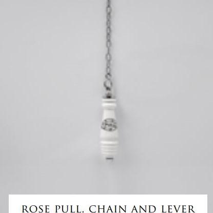 Devon&Devon Rose сливной механизм, ручка, цепочка и рычаг для высокого бачка