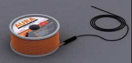 Теплый пол на основе двухжильного нагревательного кабеля AURA Heating  КТА  45.5м -800Вт