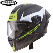 Мотошлем Caberg Drift Evo Carbon, Черный матовый/Флуоресцентный