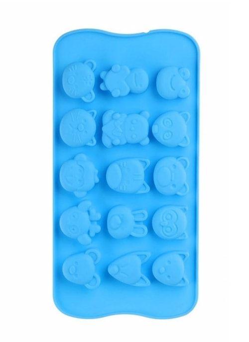 """Форма для льда и шоколада """"Мордочки"""""""
