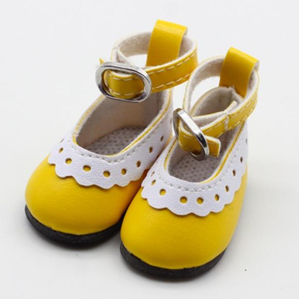 Туфельки для куклы, 4,5 см Желтые