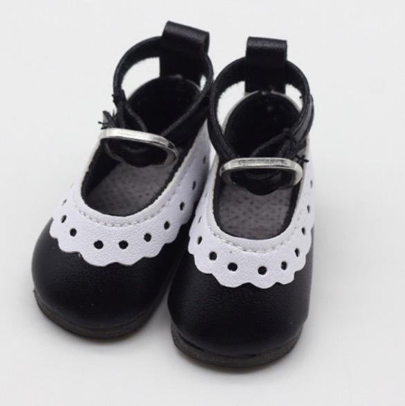 Туфельки для куклы, 4,5 см Черные