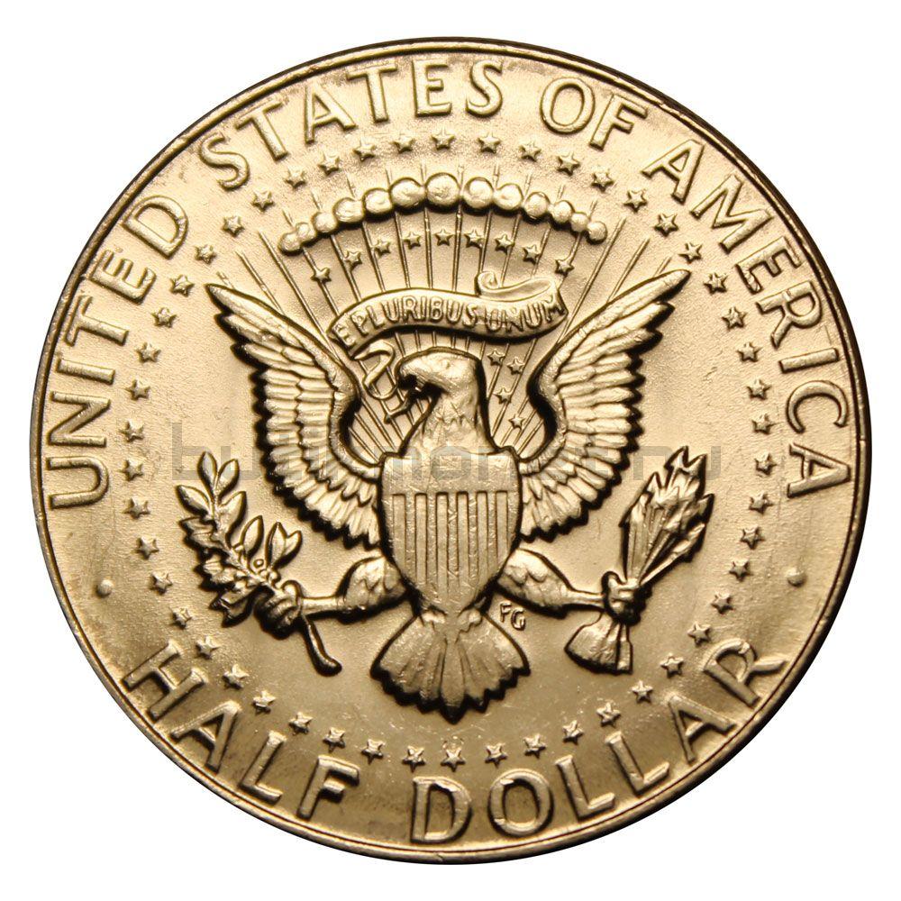50 центов 1969 США Kennedy Half Dollar D