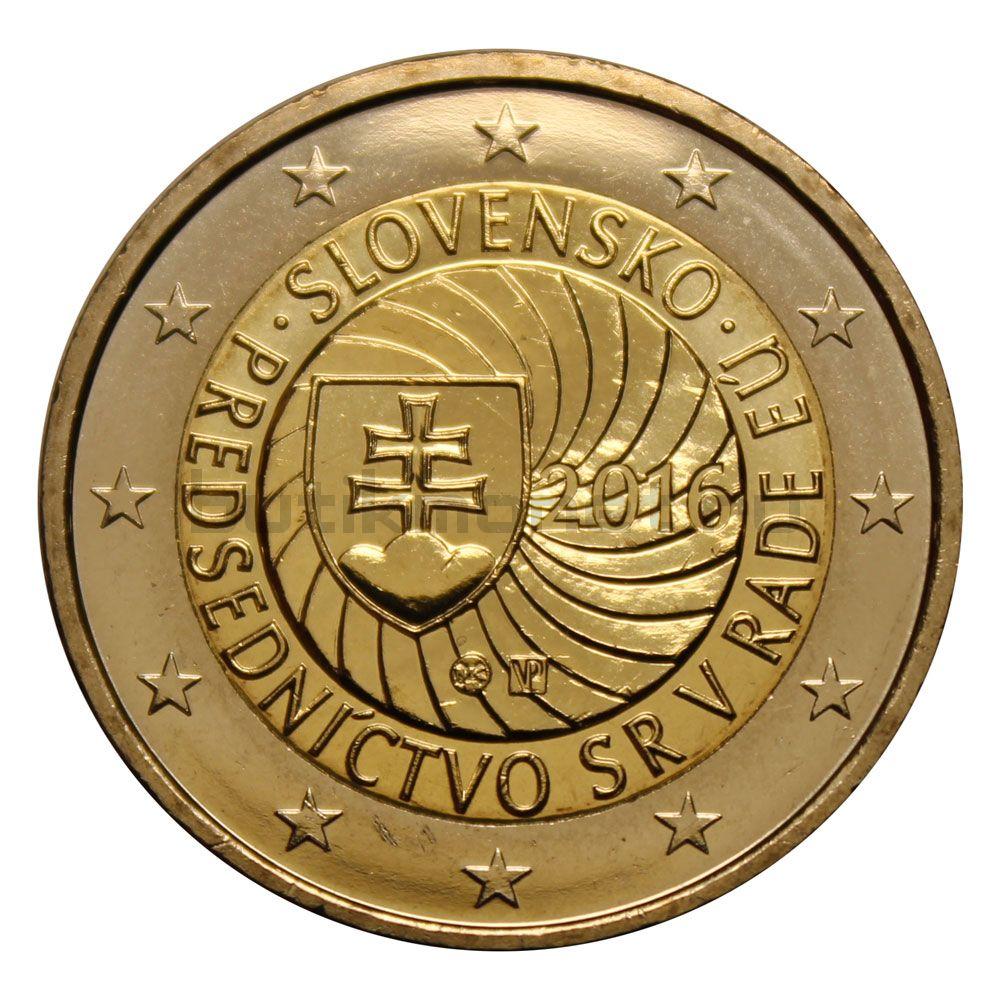 2 евро 2016 Словакия Председательство Словакии в Совете ЕС
