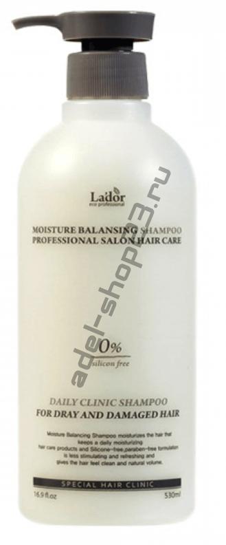Lador Увлажняющий шампунь для сухих и поврежденный волос