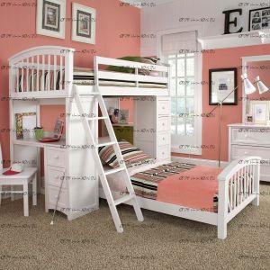 Кровать двухъярусная Николетта массив