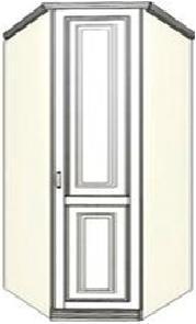 Шкаф-трапеция угловой Ферсия, 85/75 см (модуль 31)