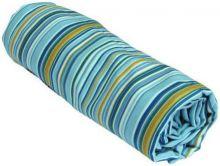 Полотенце пляжное Семейное 87 х 180 см светло-голубое