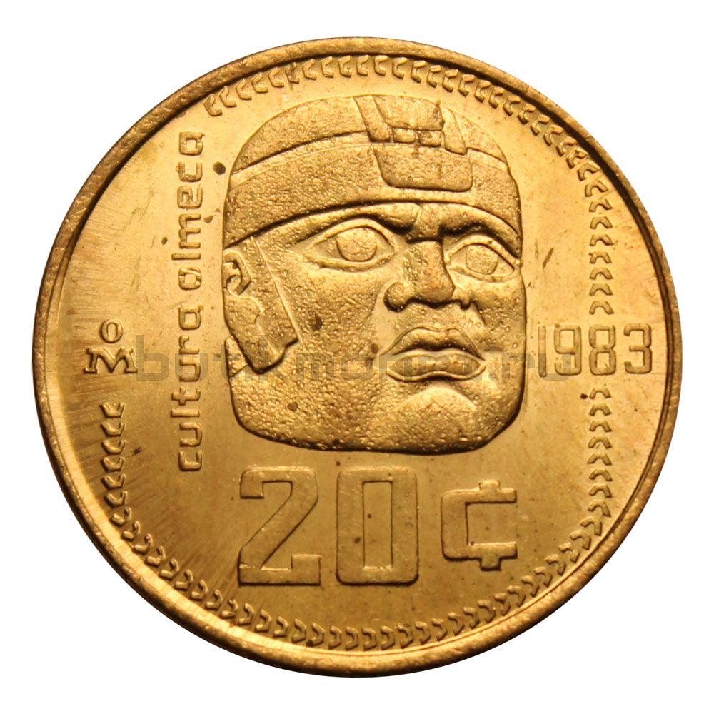 20 сентаво 1983 Мексика