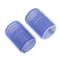 DEWAL Бигуди-липучки, синие d 52 мм, 6 шт/уп, R-VTR14