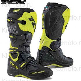 Мотоботы TCX Comp Evo 2 Michelin, Черный/Желтый