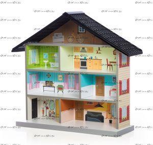 Кукольный домик MiMi (Мебелев)