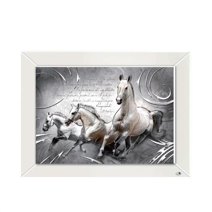 """Картина """"Табун лошадей"""" (Италия, 60*45см.)"""