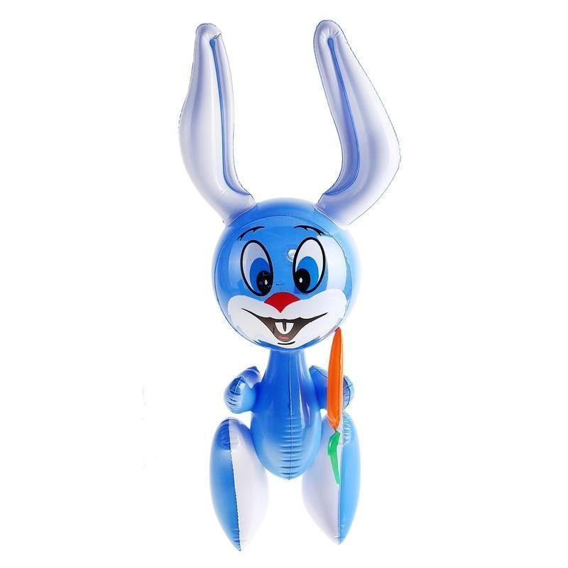 Надувная игрушка Зайка с морковкой