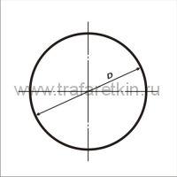 Размеры круглых дорожных знаков