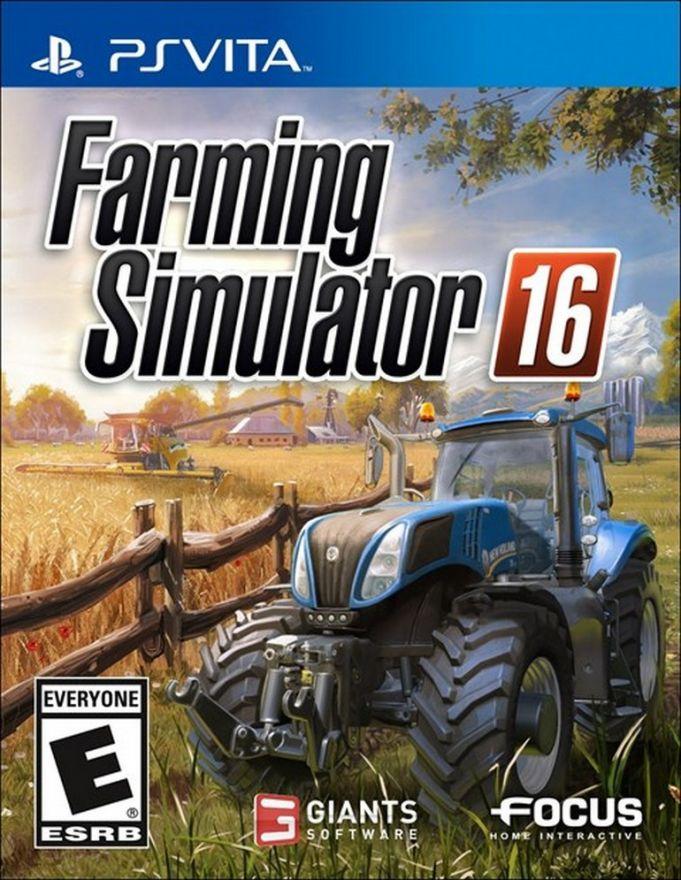 Игра Farming Simulator 16 (PS Vita)
