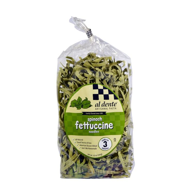 Паста Феттуччине со шпинатом, 340 гр.