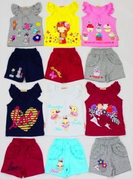 Комплект для девочки 1-4 лет BK297MS