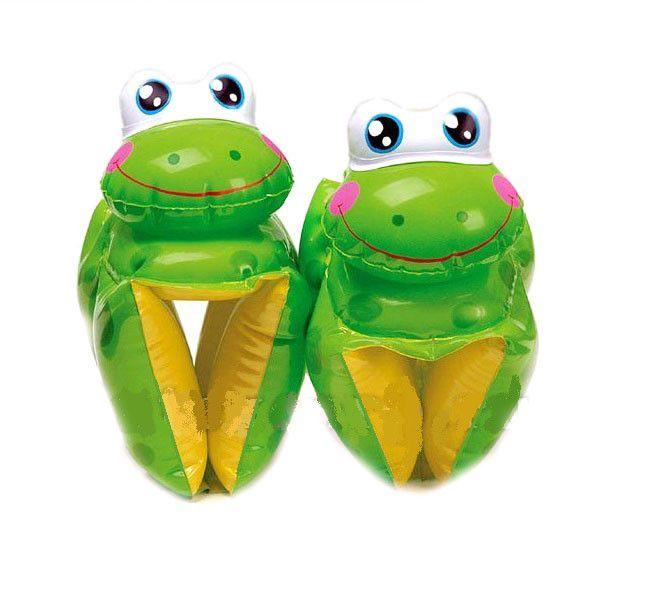 Детские нарукавники для плавания Лягушата (28х19 см)