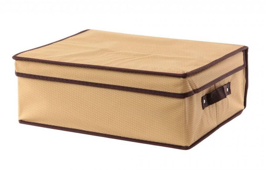 Складной кофр с жёстким каркасом для хранения вещей (Размер: 28х30х15,5 см)