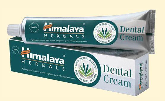 СЕРАЯ индийская зубная паста Dental Cream Himalaya, 100 г (Москва)