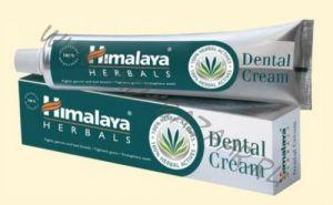 Серая индийская зубная паста Dental Cream Himalaya, большой объем (200 г)