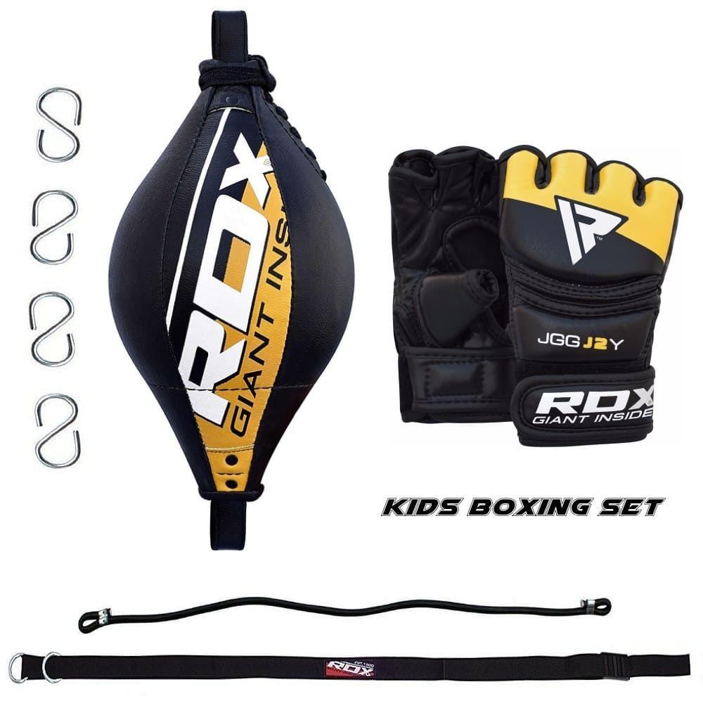 Детский боксерский комплект RDX BOX SET J33 - GOLD