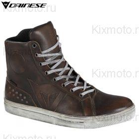 Кеды Dainese Street Rocker D-WP, Тёмно-коричневые