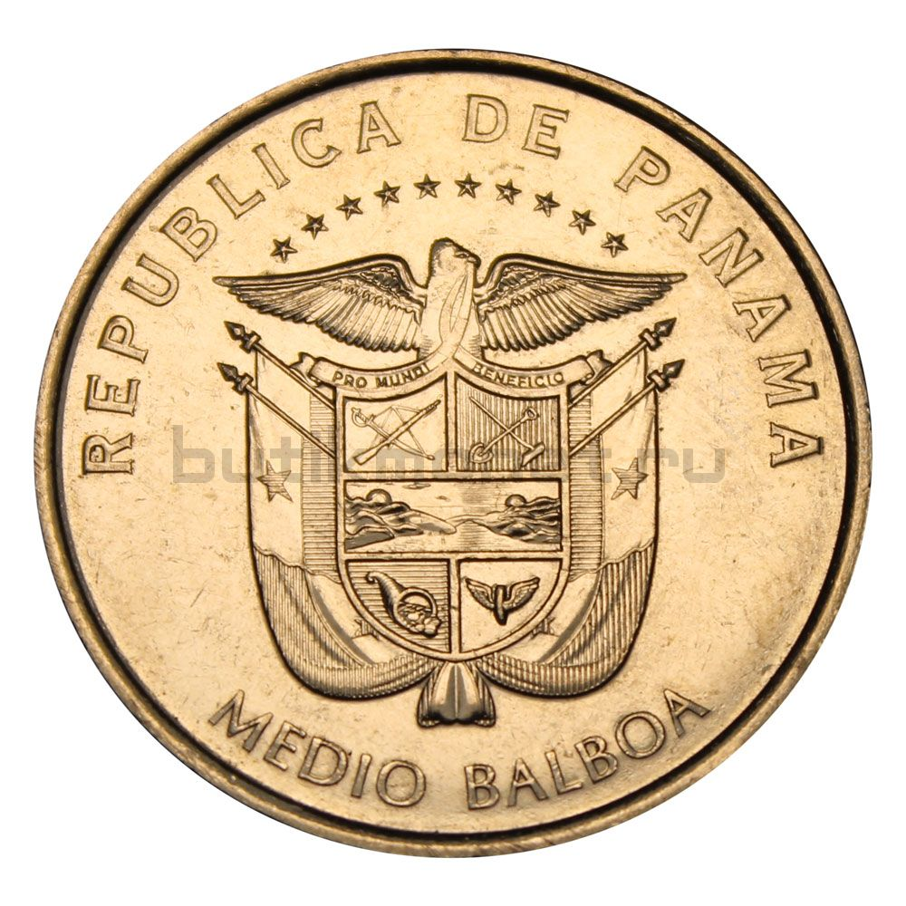 1/2 бальбоа 2015 Панама Монастырь Сан-Хосе (Панама-Вьехо)