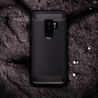 Чехол Spigen Rugged Armor для Samsung S8 Plus черный