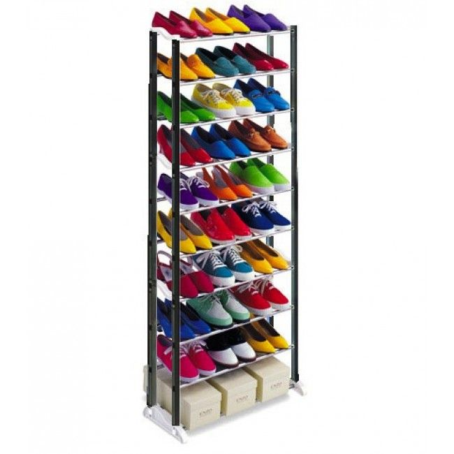 Стойка для обуви Amazing Shoe Rack (Цвет: Черный)