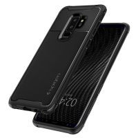Чехол Spigen Rugged Armor Urban для Samsung S9 Plus черный
