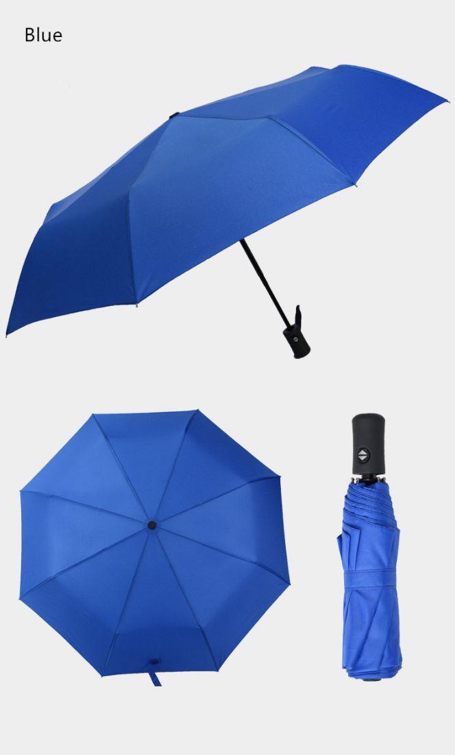Карманный зонт umbrella синий