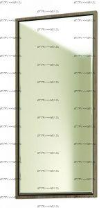 Зеркало ЯПЗ-1 Ямайка (44х2х94)