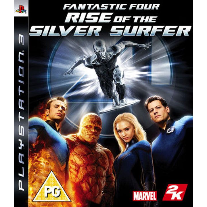 Игра Fantastic Four Rise Of The Silver Surfer (PS3)