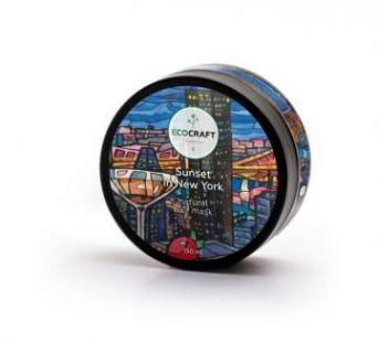 """Ecocraft - Маска для блеска и густоты волос """"Sunset in New York"""" Закат в Нью-Йорке 150 мл"""