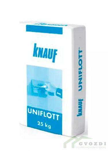 Шпатлевка Knauf UNIFLOTT, кнауф Унифлот, гипсовая (25 кг)