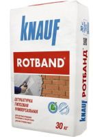 Штукатурка Knauf ROTBAND, гипсовая штукатурка Кнауф РОТБАНД для стен и потолков (30 кг)