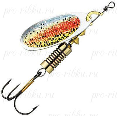 БЛЕСНА DAM EFFZETT NATURE 3D SPINNER 6г, цв. Rainbow Trout