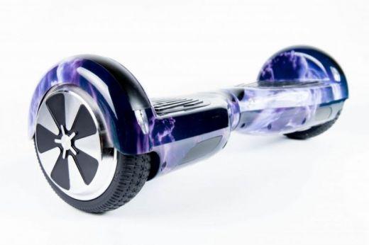 Гироскутер Smart Balance Wheel 6.5 APP Самобаланс Облако фиолетовое