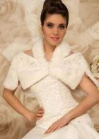 Свадебная меховая накидка фото
