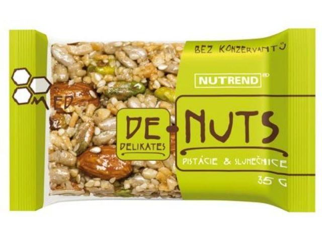 DE-NUTS Фисташки и подсолнечник (60 гр.)