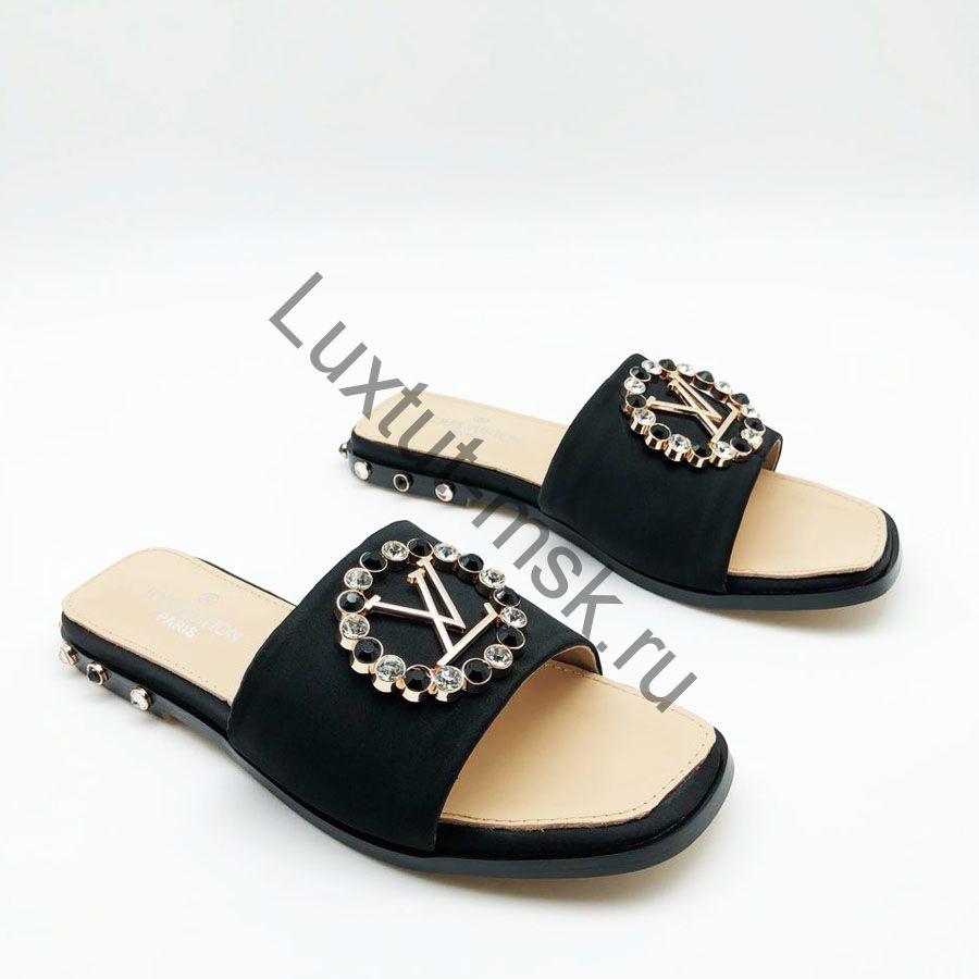 6bbd38807 Женские брендовые шлепки Louis Vuitton (Луи Виттон) купить в ...
